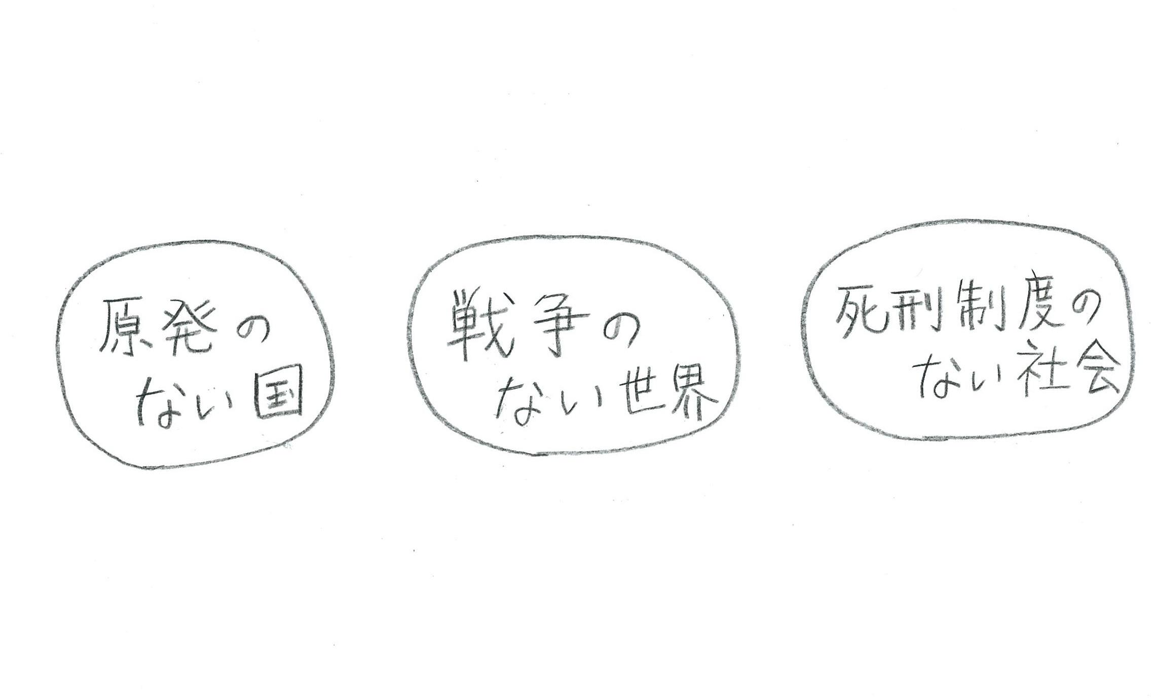 3つの願い※